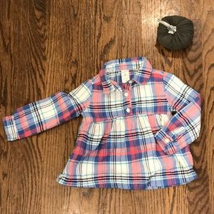 💕4/$20💕 Carters 2t flannel
